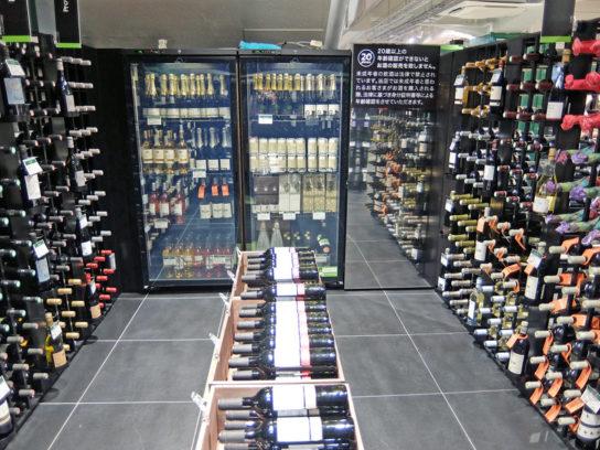 フランス直輸入ワインコーナー