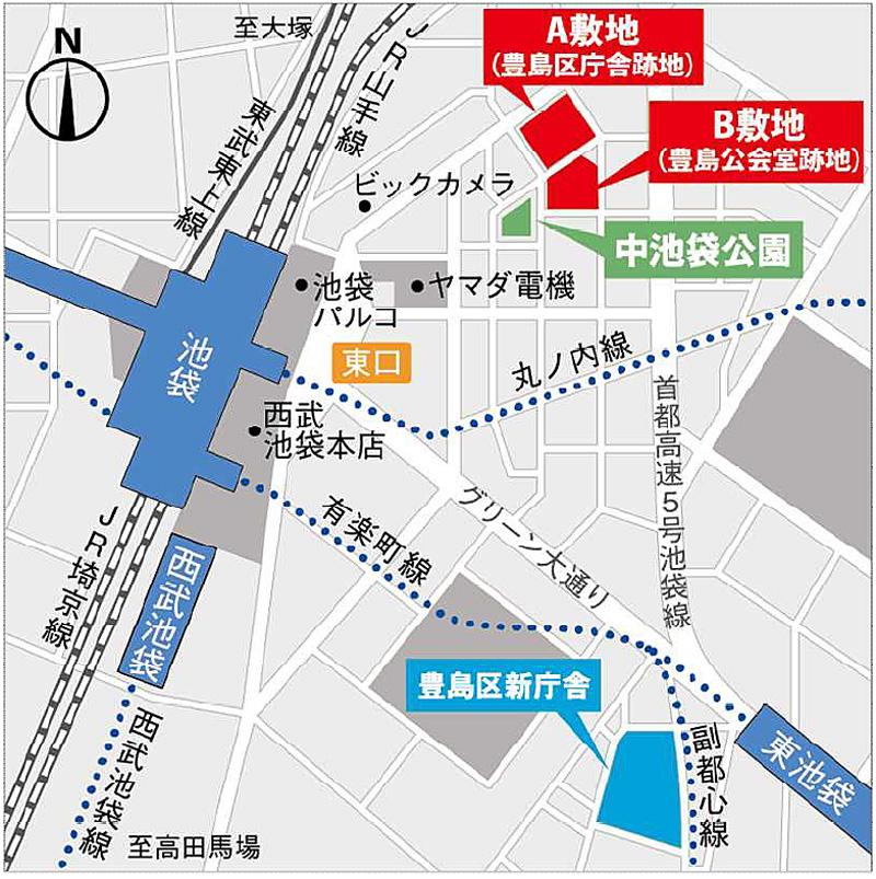 豊島区庁舎跡地/シネコンなど大型複合施設着工 | 流通ニュース