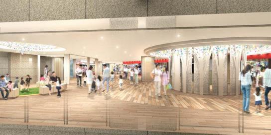 北館地下1階のイメージ