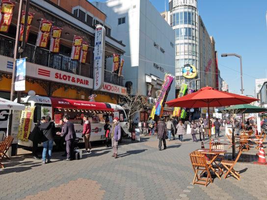浅草六区オープンカフェ