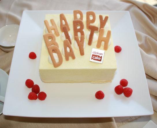 白雪姫のバースデーケーキ
