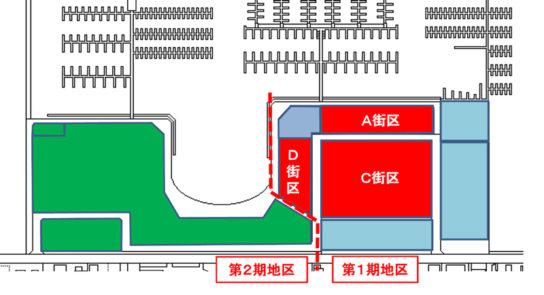 横浜ベイサイドマリーナ地区概略図