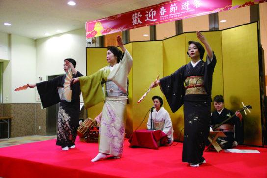 箱根での歓迎イベント(昨年の様子)