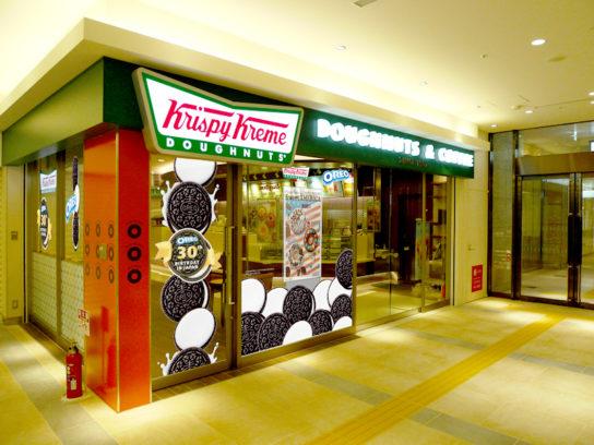 「オレオ」とコラボ、ルクア大阪店