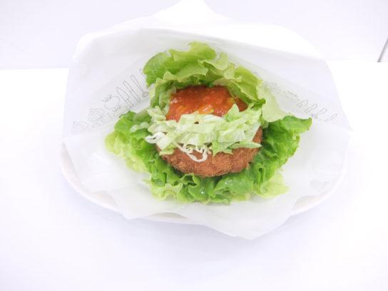 モスの菜摘リッチ海老カツ 蟹チリソース