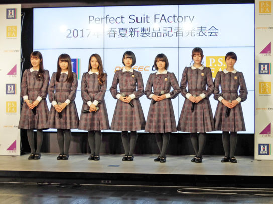 イベントに出席した乃木坂46