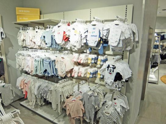 新生児向けの商品も展開