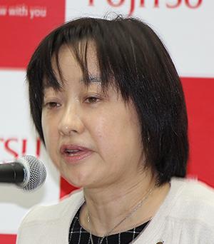 サービスプラットフォーム部門 AI基盤事業本部長 吉澤尚子執行役員