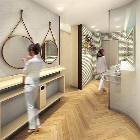 1階女性用トイレ内イメージ