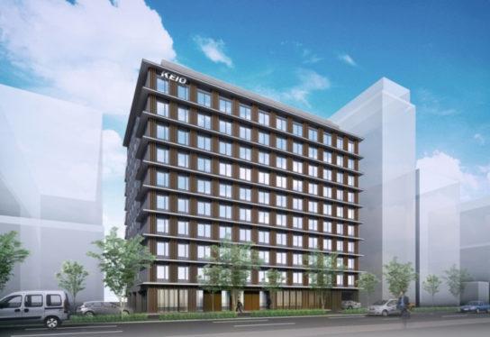京王プレリアホテル外観イメージ京都10階建