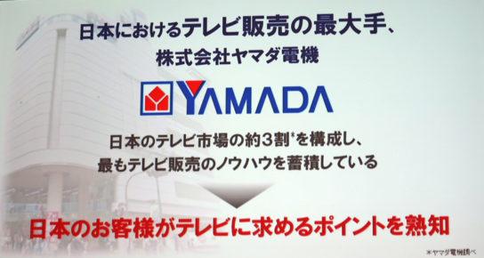 ヤマダ電機の市場シェア