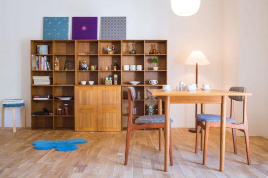 ヴィンテージ家具、食器のイメージ