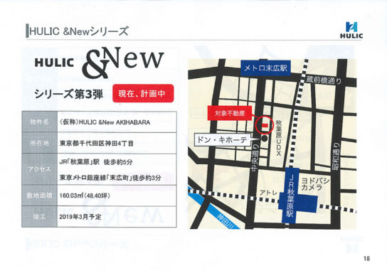 (仮称)HULIC&New AKIHABARA