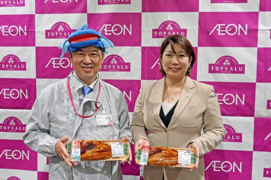松本部長(左)