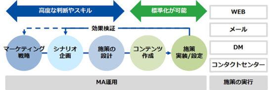 MA運用支援でのDNP、りらいあコミュニケーションズの協働イメージ