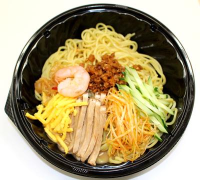 中華涼麺(ピリ辛ごまスープ)