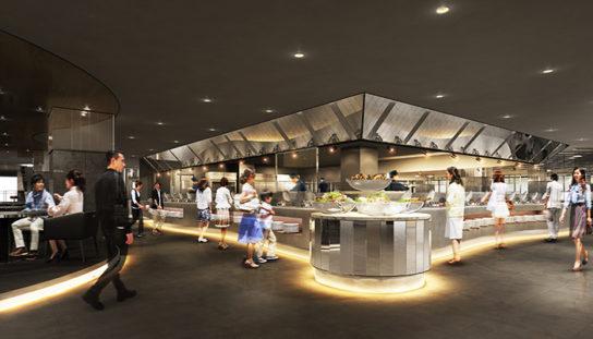 ビュッフェレストラン 和食厨房