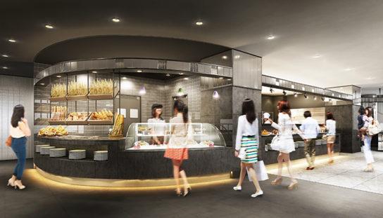 ビュッフェレストラン スイーツ厨房