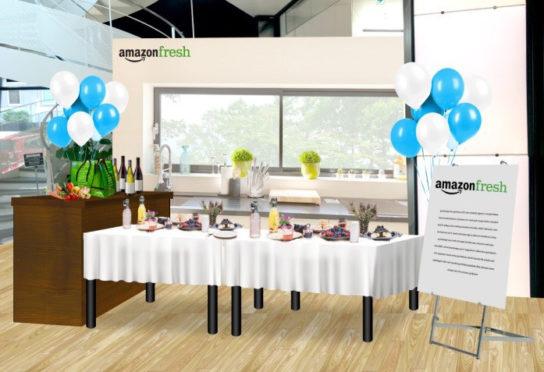 ダイニング・キッチン Amazonフレッシュ試食