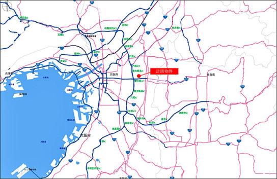 (仮称)ニッセイロジスティクスセンター東大阪広域図