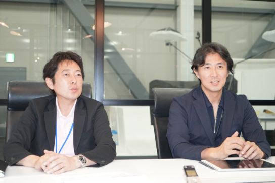 右が加藤社長、左が佐藤社長