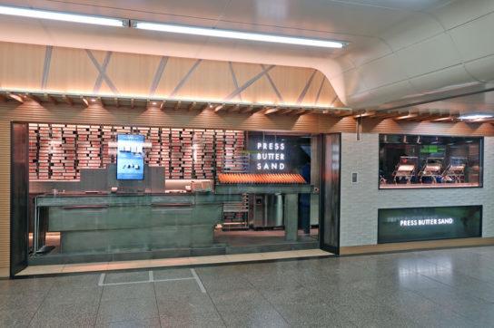 東京駅の新業態「PRESS BUTTER SAND」