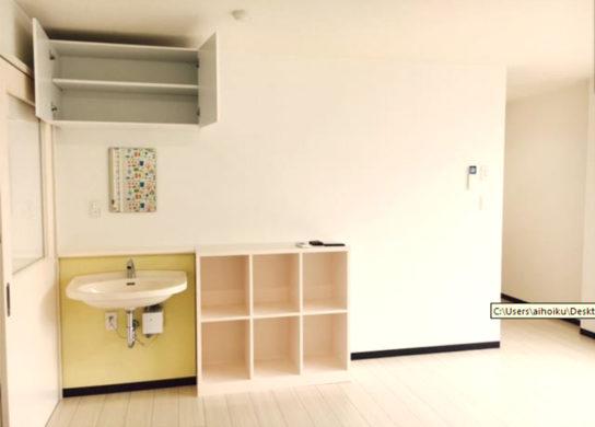 広島市の保育園の手洗いスペース