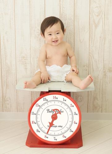 子どもの1歳の誕生日までの撮影に特化