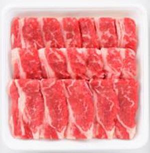 アメリカ産牛ばらカルビ焼肉用