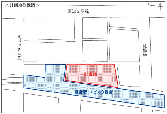 計画地位置図