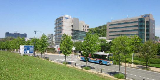 YRP(横須賀リサーチパーク)内風景