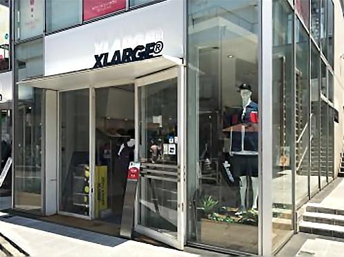 XLARGEの店舗