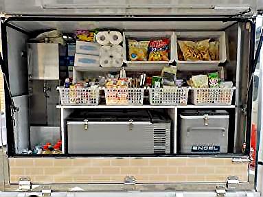 冷凍庫、菓子、加工食品