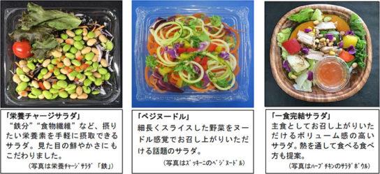 サラダ商品の一例