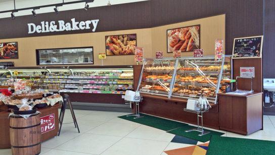 惣菜・ベーカリー売場の一例