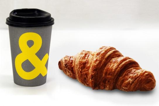 クロワッサン&COFFEE