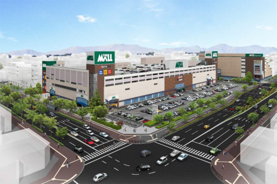 THE MALL 仙台長町
