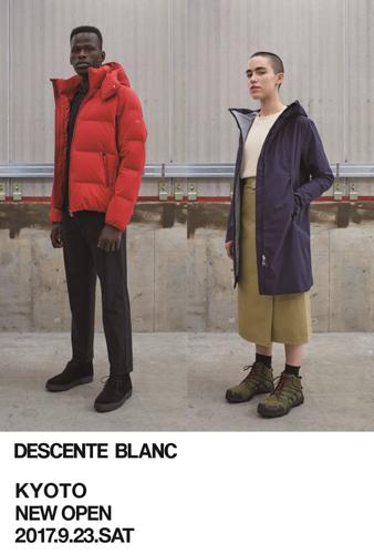 DESCENTE BLANC