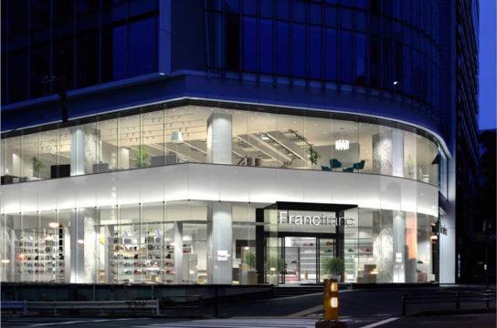 「Francfranc」の旗艦店である青山店
