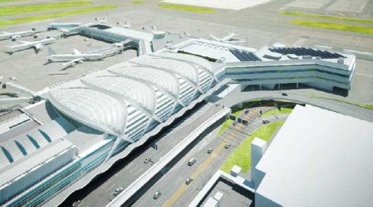 第2旅客ターミナル増築部分1