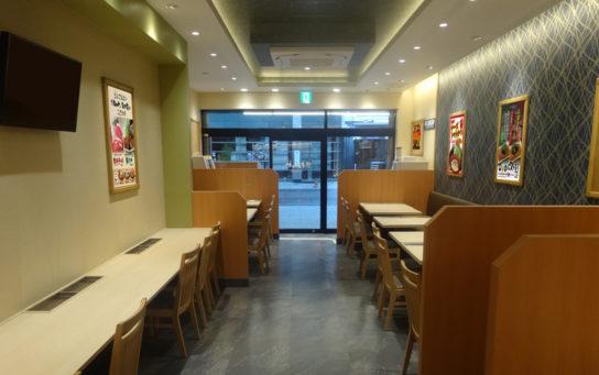 松のや 熊本新市街店 内装
