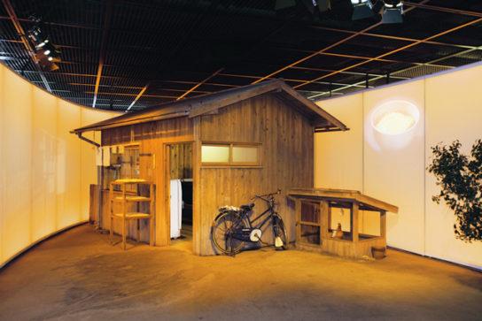 チキンラーメン開発当時の研究小屋をイメージ
