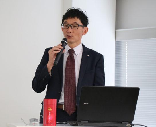 江崎グリコの田中国男ブランドマネージャー
