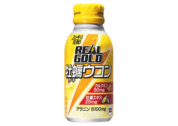 コカ・コーラ/牡蠣エキスを配合「リアルゴールド 牡蠣ウコン」