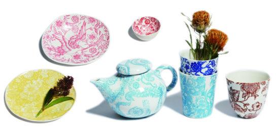 サマンサ・ロビンソンの陶器
