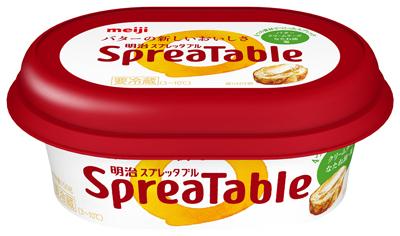 明治/新スプレッド「スプレッタブル バターの新しいおいしさ」
