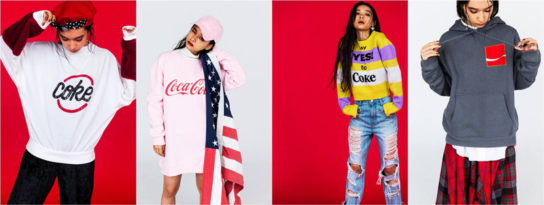 22ブランドがコカ・コーラとコラボ