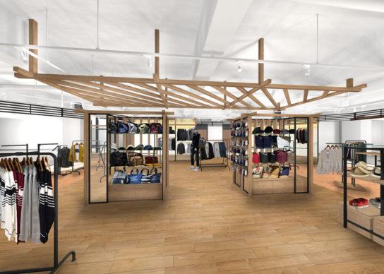 メンズアパレル・服飾雑貨の比率を拡大