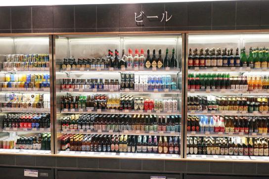 ビール売場