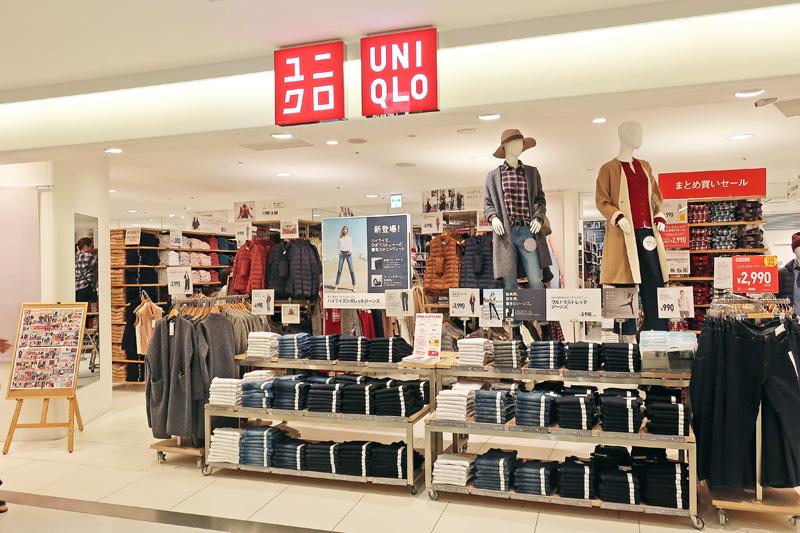 ユニクロ/10月の既存店売上8.9%増、冬物商品が全般的に好調 ...